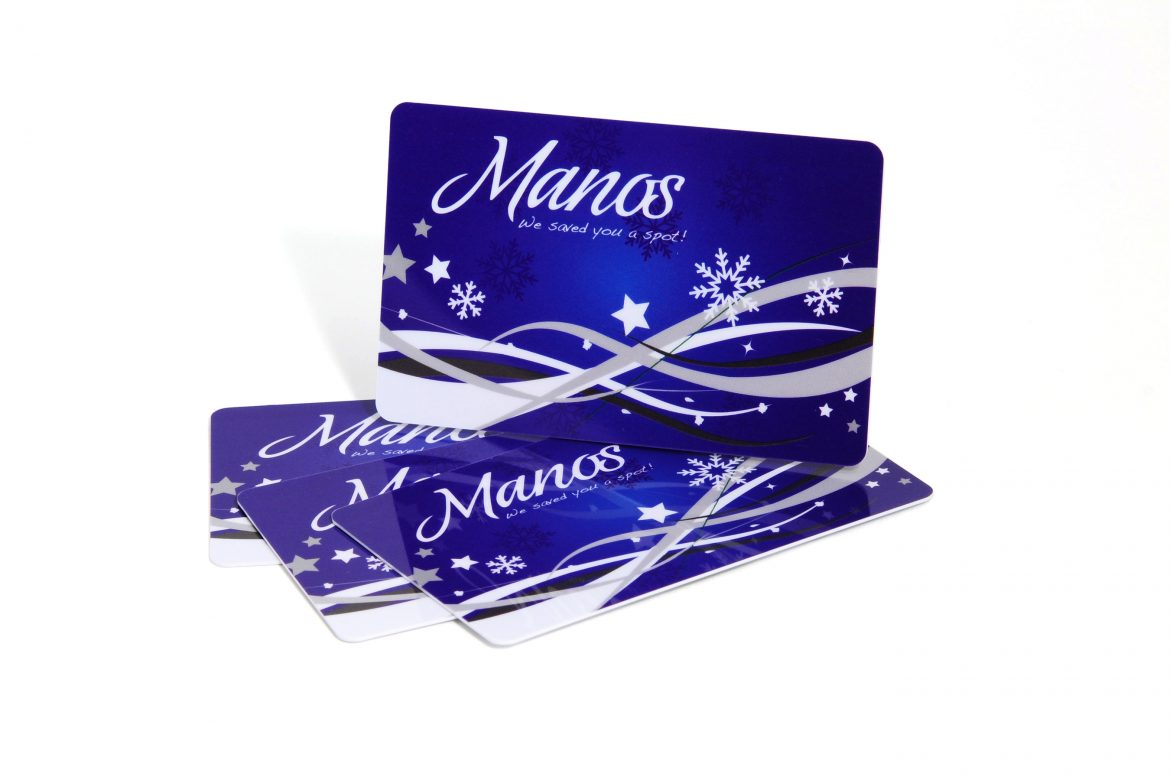 GIFT CARD DESIGN FOR THE HOLIDAYS